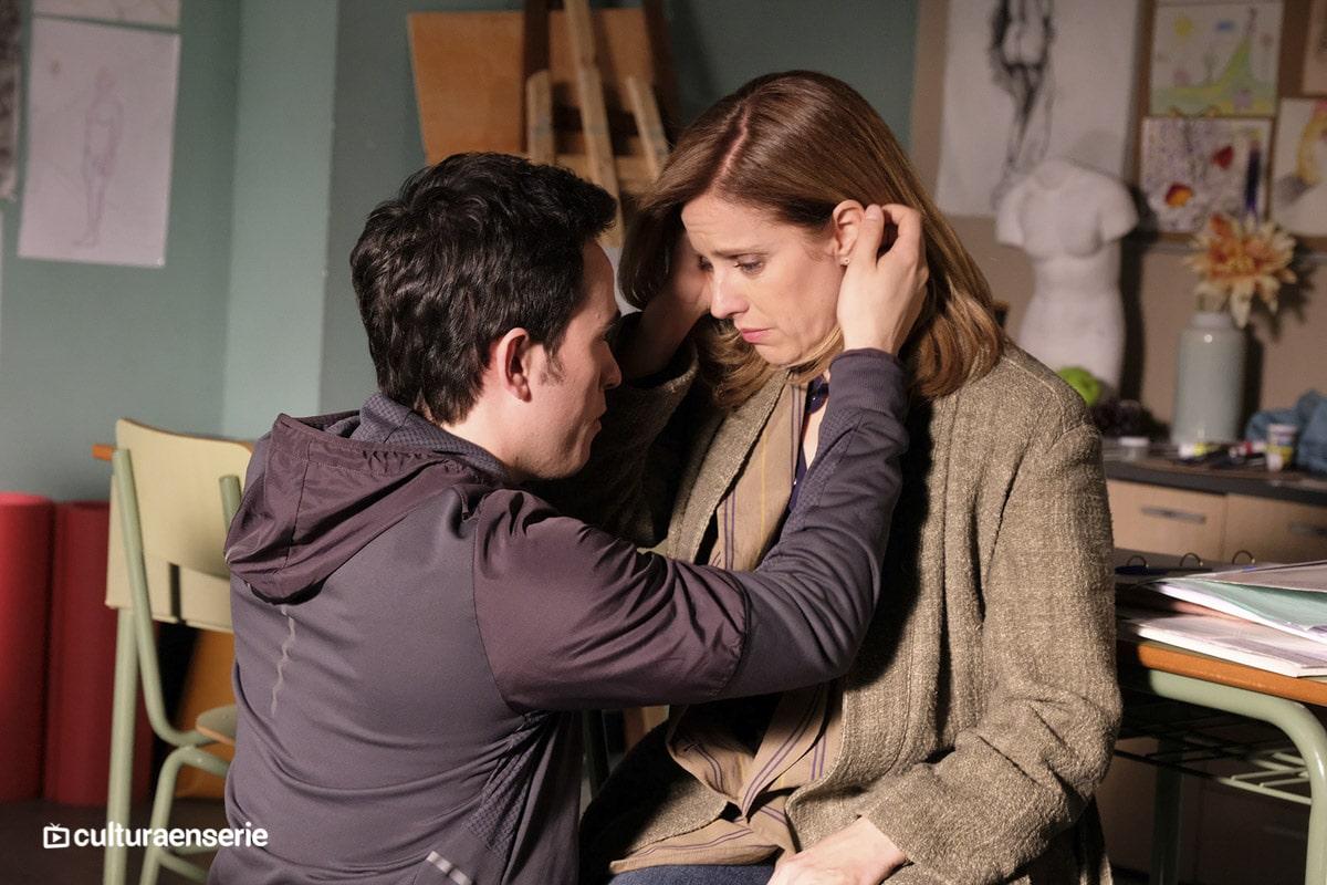 Alejandro Jato y María Molins en Servir y proteger