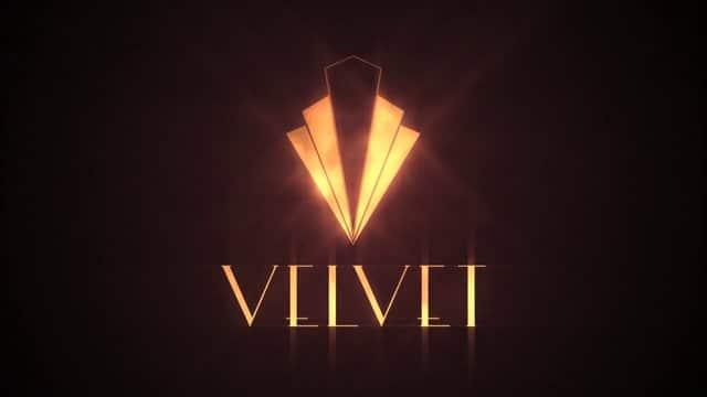 Logo de 'Galerías Velvet'