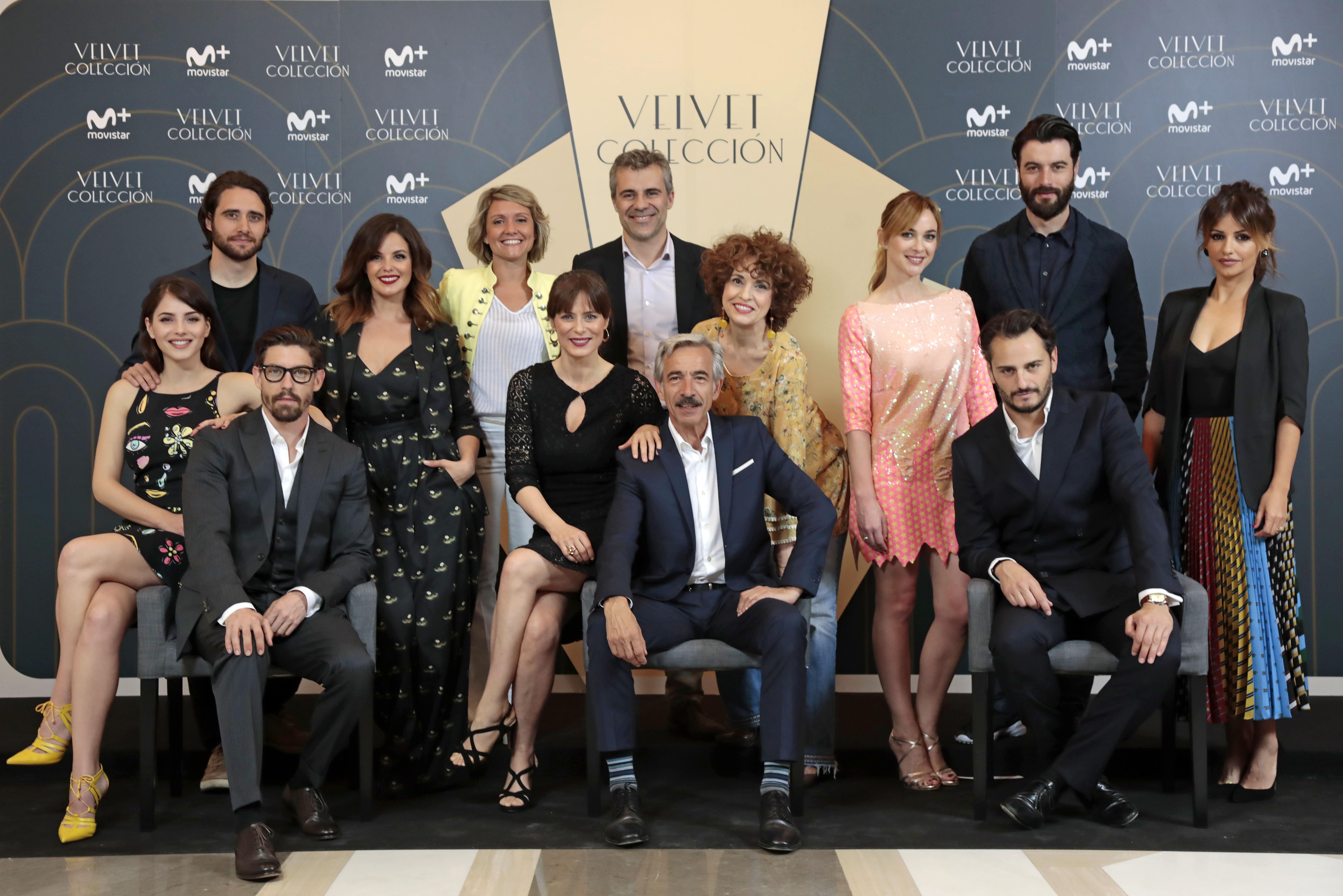 """Movistar + presenta  Velvet Colección   """"No está previsto que esté Miguel  Ángel Silvestre fd9c9b849"""