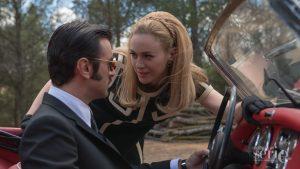 Javier Rey y Marta Hazas durante el rodaje