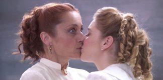 Beso Acacias. Carmen y Flora. María Blanco