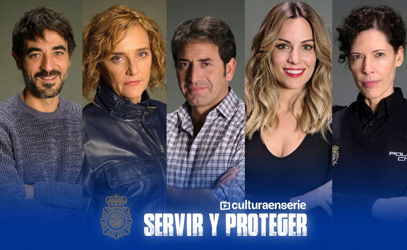 Tercera temporada Servir y Proteger