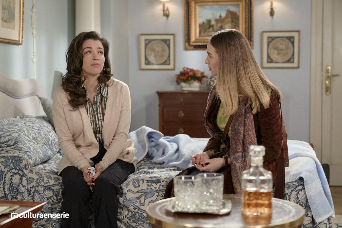 Luisita y Amelia en Amar es para siempre