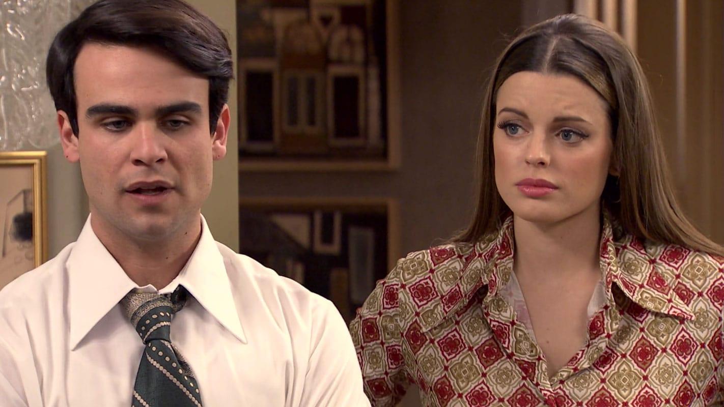 Lourdes y Mateo en Amar es para siempre