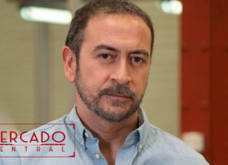 Santiago Molero es Nacho en Mercado Central